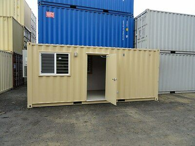 20' Office Shipping Container L & I Gold Seal Certified, WA/OR/ID Chehalis, WA