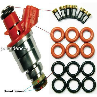 Injector Service Kit Holden Rodeo Tf 6Vd1 3.2L 6 Cyl 97-03 Injectors