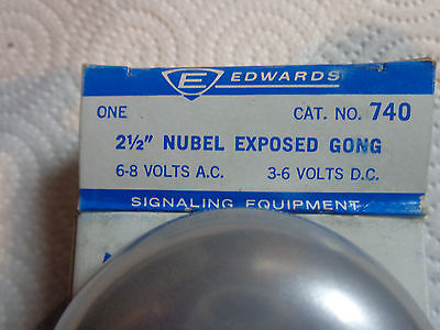 Edwards 740 2 1/2 Nubel Exposed Gong Signaling Equipment