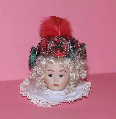 Maud Humphrey Ornament The Heirloom Collection Gretchen Porcelain & Fabric