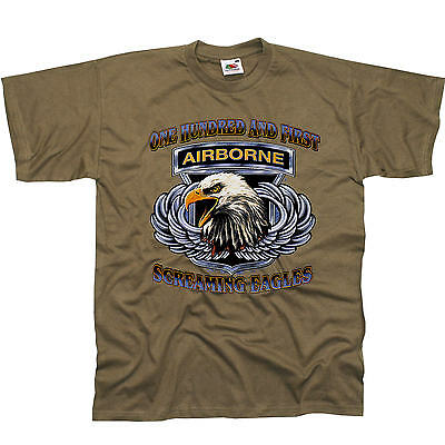 * US Army Fallschirmspringer Eagles Airborne Special Forces T-Shirt * 3193