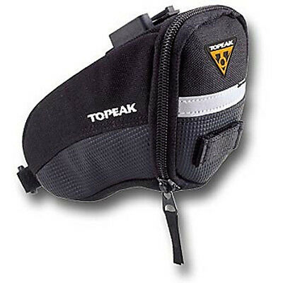 Topeak Wedge Bike Bag Quickclip Small Fabric Seat Seatpost Saddle Pouch Bicycle