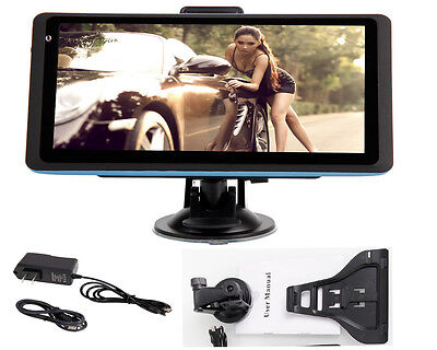 """NEW 7""""Inch LCD Display TF Built-in 4GB Car GPS Navigator USA CA and Mexico Map"""