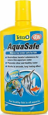 Tetra Aqua Safe 50Ml Makes Tap Water Clear Healthy Safe For Fish