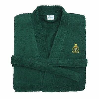 Queens Royal Irish Hussars Embroidered Dressing Gown
