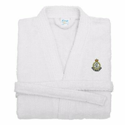 Womens Royal Army Corps Suffolk Embroidered Dressing Gown