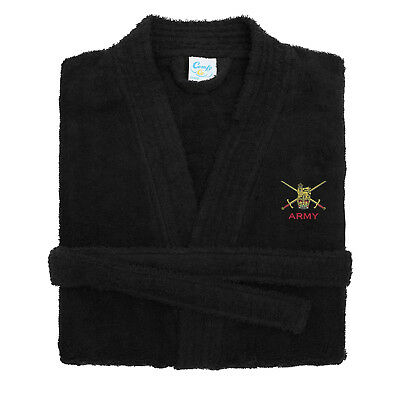 Army Embroidered Dressing Gown