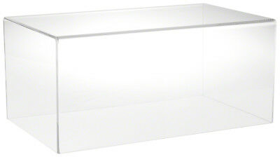 "Plymor Brand Clear Acrylic Display Case with No Base 20"" W x 12"" D x 9"" H"