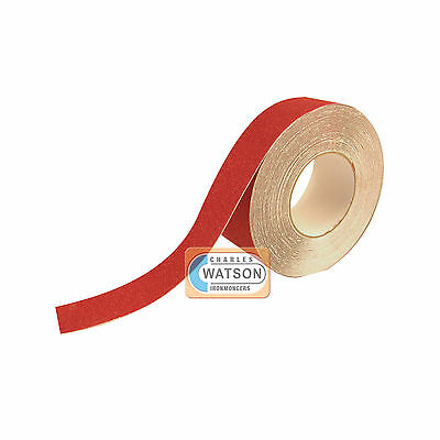 50mm x 20m Red ANTI SLIP TAPE High Grip Adhesive Backed Non Slip Safety