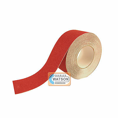 100mm x 20m Red ANTI SLIP TAPE High Grip Adhesive Backed Non Slip
