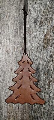 Primitive Looks Like Rusty Tin  Small  Hanging Christmas Tree Ornament