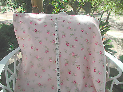 Sweet  Yuwa Live Dobby Red Rose Buds on Putty Pink Dobby Cotton Fabric