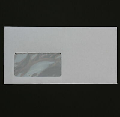 50 St Envelopes DIN Long Self Adhesive with Window
