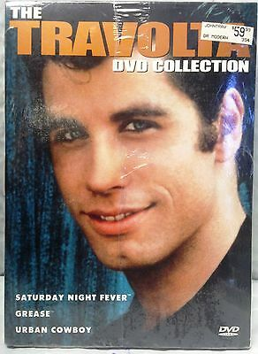 The Travolta Collection - DVD, 2002 - 3-Disc Set - Brand New - Factory Sealed -