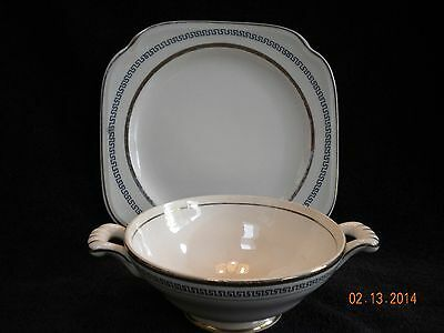 Edwin Knowles Plate and Bowl