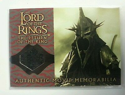 Lord of the Rings Return of the King The witch kings cloak memorabilia