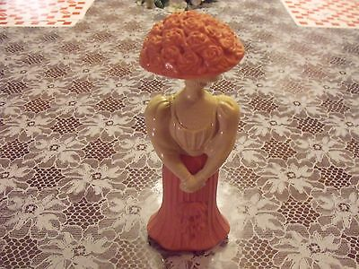 Collectible, Avon,Fashion Figurine Gay Nineties Somewhere Cologne EMPTY!!!