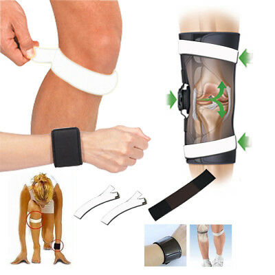 Dr Levines Power 3X Strap Knees And Wrist Adjustable Orthopedic Support