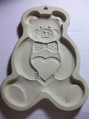 VERY CLEAN PAMPERED CHEF COOKIE MOLD-- TEDDY BEAR - 1991
