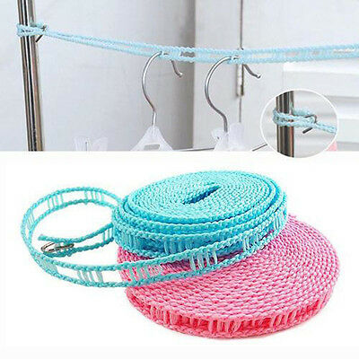 Traveling Camping Outdoor Antiskid Fence Laundry Clothesline clothes rope 5M