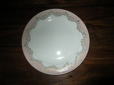 Bowls Knowles Pink Semi Vitreous 4 Lunch Salad Plates