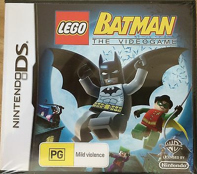 LEGO Batman: The Videogame - Nintendo DS -New/Sealed - Great Stocking Filler