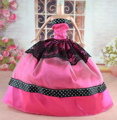 New Handmade Party Clothes Fashion Dress for Noble Doll  #y31