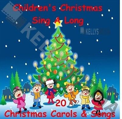 Children's Christmas Sing-Along Cd - 20 Christmas Carols For Kids Of All Ages