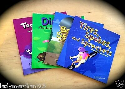 WHOLESALE SET OF 4 PICTURE WINDOW BOOKS, Great Buy! All New! (4-10 Yr Olds)
