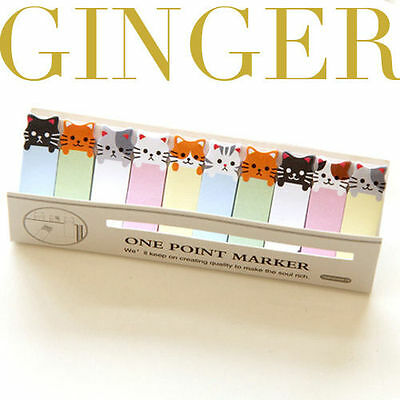 Kitty Cat Mini 150 Pages Sticker Post It Bookmark Notepad Index Tab Sticky Notes