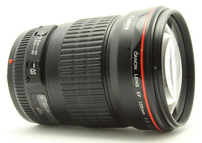 Canon EF 135mm f/2L USM Lens for Canon SLR Cameras  NEW