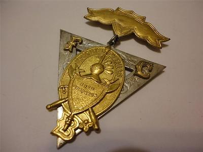 OLD Knights of Pythias FBC  Lodge Medal Pin