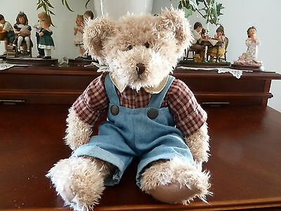 "Russ Berrie 12"" Bear ""Chad"" Item # 4246"