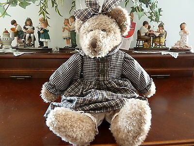 "Russ Berrie ""Bears From the Past"" ""Bianca"" Item # 100341"