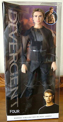 Barbie Divergent FOUR Doll – Black Label Collection - NEW! BEAUTIFUL!