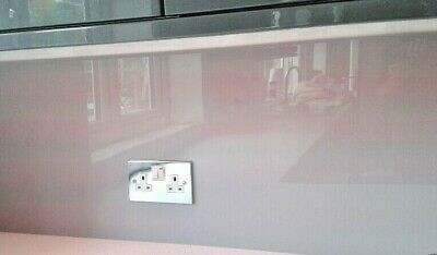 Acrylic Splash Back For Your Kitchen / Bathroom With This Grey Plastic Sheet