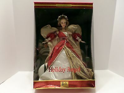 2001 Holiday Angel Barbie Collector Edition Second In The Series