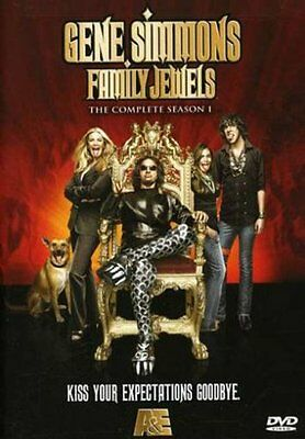 Gene Simmons: Family Jewels - The Complete Season 1 (DVD, 2009, 2-Disc Set), New