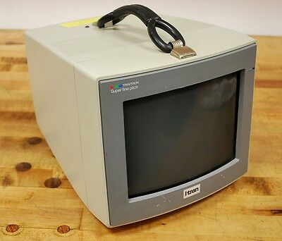 """Sony CPD-9000 Itran Trinitron 9"""" Color Character Display - USED"""