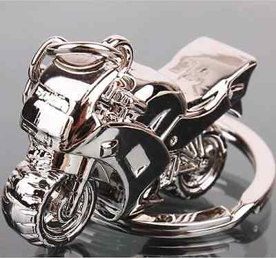 Hot Cool Alloy Creative Motorcycle Keyring Keychain Company Present Gift