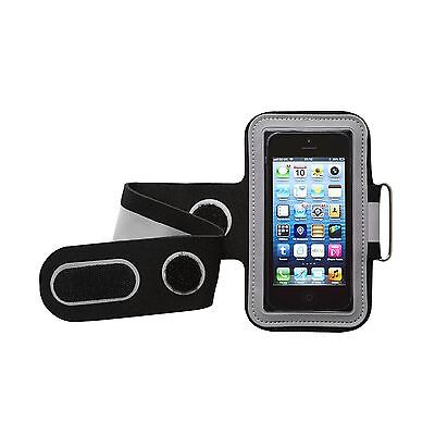 Groov-e GVAM1 BG Black/Grey Universal Sport Armband Case for Mobile Devices New