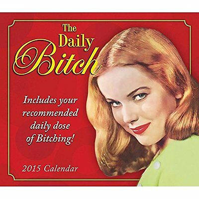 The Daily Bitch 2015 Daily Desk Boxed Calendar