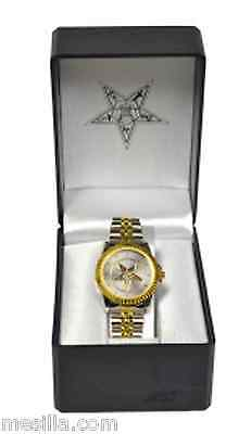 Order of the Eastern Star Ladies watch new with Masonic Eastern Star emblem