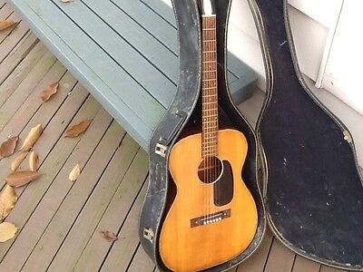 Vintage 1960'S Harmony Acoustic Guitar