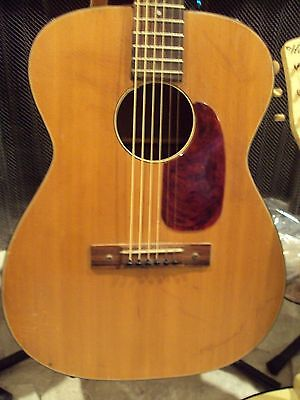 Vintage Harmony H-162 Acoustic Guitar,Brazilian Rosewood,Martin,Strings,Awesome!
