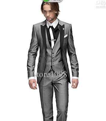 2019 Selling One Button Groom Tuxedos Groomsmen Wedding Suits Best man Suits
