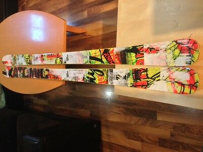 Skis - Atomic Punx 182 - Signed by Mike Riddle