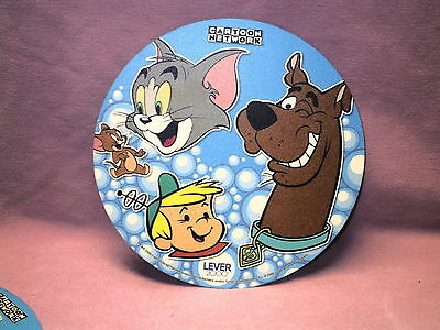 "Cartoon Newtwork Hanna Barbera Lever 2000 Scooby 8"" Round Mouse Pad Rubber Back"