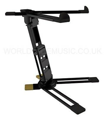 Hercules DG400BB Foldaway Laptop Stand + Bag - Quick and easy support for laptop