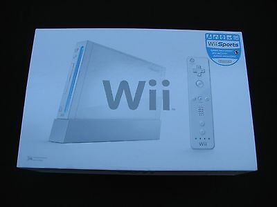 ☆•*¨*•☆~Nintendo Wii White game Console/System Sports Bundle w/paperwork!~☆•*¨*•